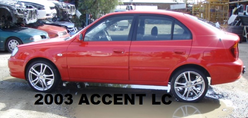 2003 Accent Lc Westwide Auto Recyclerswestwide Auto
